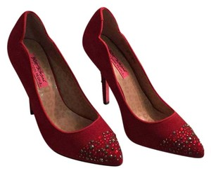 Betsey Johnson Red Pumps