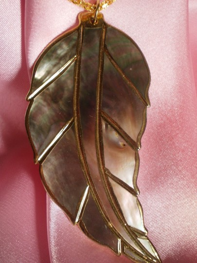 Other Like new Abalone leaf necklace