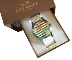 Coach Maddy Rainbow Stainless Steel Watch