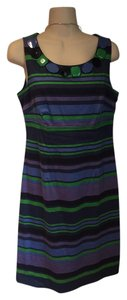Boden short dress green, blues, purple on Tradesy