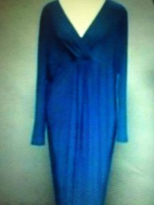 Blue Maxi Dress by Jacques Vert