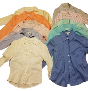 Banana Republic Button Down Shirt multicolor