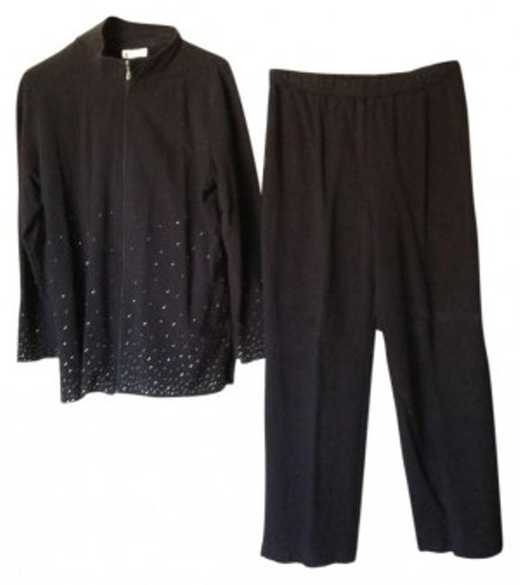 Preload https://img-static.tradesy.com/item/163917/coldwater-creek-black-sparkles-on-bottom-and-sleeves-pant-suit-size-14-l-0-0-650-650.jpg