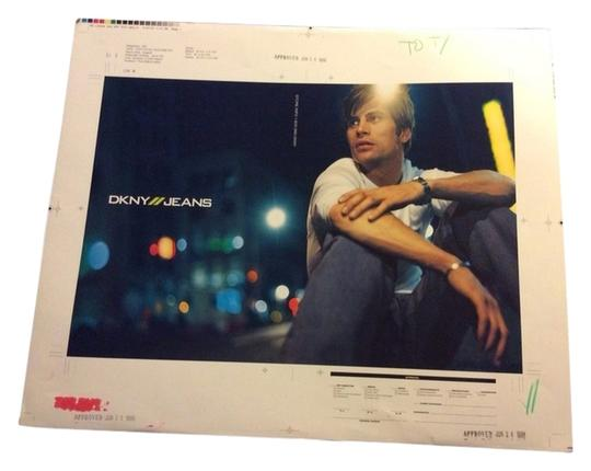 Donna Karan Dkny One of A Kind 16x20 Master Advertising Photo Donna Karan