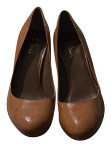 Cole Haan Patent Nude Pumps