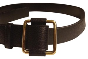 Gucci Gucci black leather belt