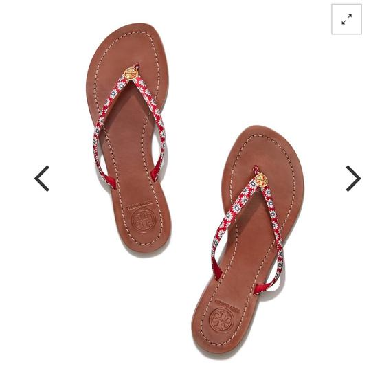 Tory Burch PRIMROSE / NANTUCKET RED Sandals Image 0