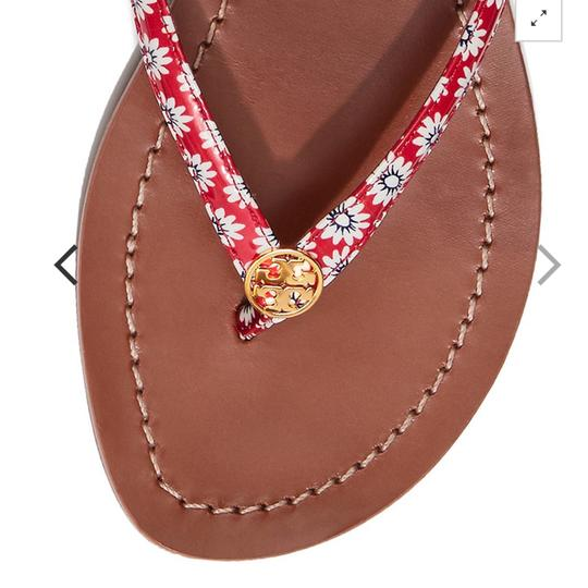 Tory Burch PRIMROSE / NANTUCKET RED Sandals Image 2