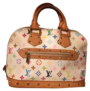 Louis Vuitton Satchel in Tri Colore