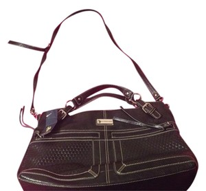 U.S. Polo Assn. Leather Black Shoulder Bag