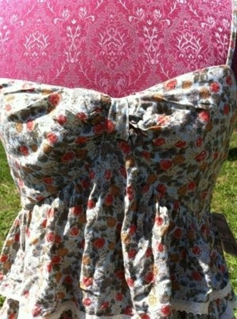 Forever 21 Spaghetti Strap Top Floral