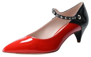 Miu Miu Black / Red Pumps