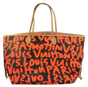 Louis Vuitton Artsy Mm Gm Pallas Eva Favorite Pm Evora Handbag Neverfull Speedy Empreinte Cabas Alma Delightful Keepall Galliera Azur Tote in Monogram and Neon Orange