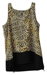 Aqua Top Cheetah - Black, Yellow, White