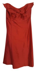 Coren Moore NY Holiday Silk Strapless Dress