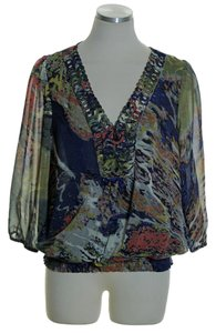 Daniel Rainn 3/4 Sleeve Peasant Top