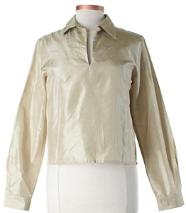Michael Kors Silk Pearl Top