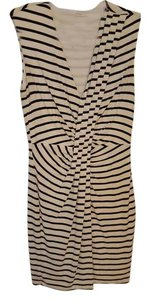 Anthropologie Striped Holiday Date Night Dress