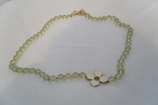 Banana Republic Stone/Jeweled Bracelet and Glass Bead Necklace Set
