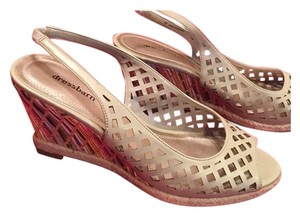 dressbarn Like New Free Shipping MULTICOLOR Wedges