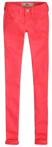 Hollister Never Worn Free Shipping Skinny Pants Orange