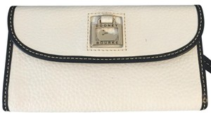 Dooney & Bourke White Clutch