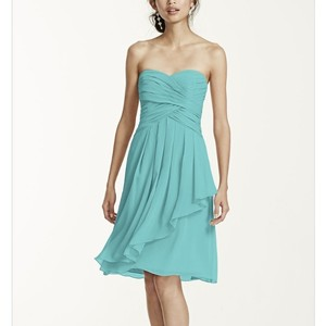 David's Bridal Pool Dress
