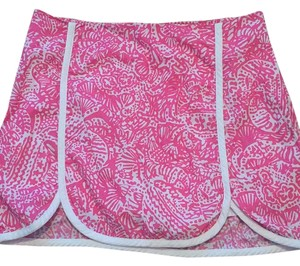 Lilly Pulitzer Mini Skirt Pink white