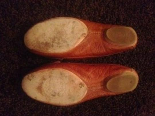 Tory Burch Loafer Drivers 8 Ladies Tan Flats