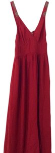 Red Maxi Dress by Candela