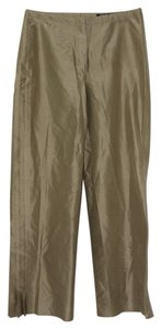 Betty Barclay Silk Relaxed Baggy Pants Fallow Brown