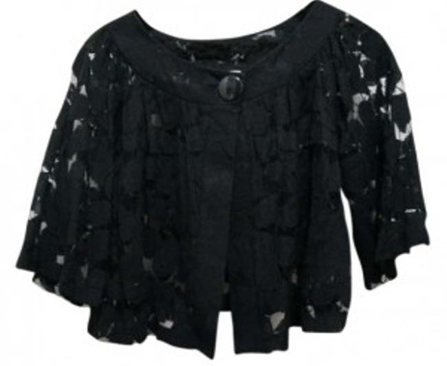 Preload https://item3.tradesy.com/images/black-button-lace-cardigan-size-8-m-163997-0-0.jpg?width=400&height=650
