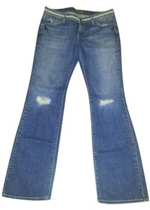 James Jeans Boot Cut Jeans-Distressed