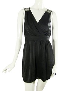BCBGeneration short dress Black V Back on Tradesy