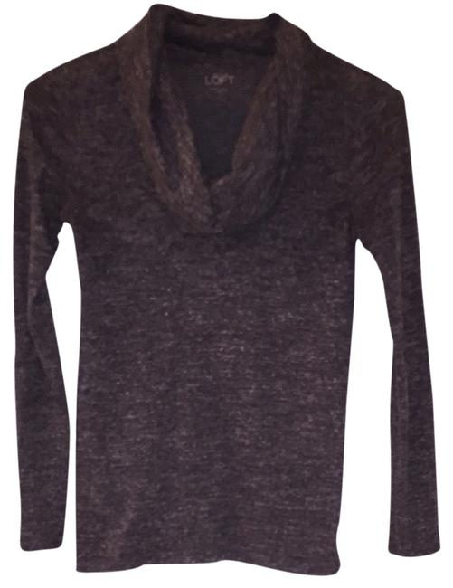 Preload https://item1.tradesy.com/images/ann-taylor-loft-heather-grey-blouse-size-0-xs-1640090-0-0.jpg?width=400&height=650