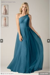 Wtoo Teal Wtoo Bridesmaid Dress Dress