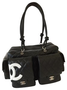 Chanel Qulted Ligne Cambon Shoulder Bag