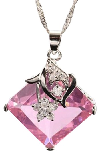 Preload https://img-static.tradesy.com/item/16401505/freestyle-pink-asscher-gemstone-pendant-with-chainnecklace-in-white-gold-plated-necklace-0-1-540-540.jpg