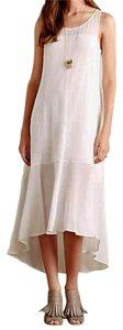 NWT White Maxi Dress by Anthropologie Elegant Simple