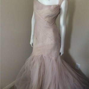 Monique Lhuillier Monique Blush Tulle Gown Wedding Dress