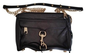 Rebecca Minkoff Leather Chain Mini Cross Body Bag