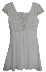 Lulu*s short dress White Summer Mini Little on Tradesy