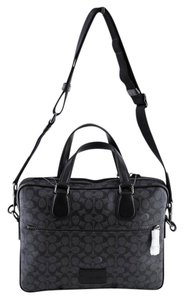 Coach Hudson Monogram Laptop Bag