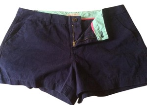 Merona 2 Pairs Of Size 10 Nwot Mini/Short Shorts Khaki and navy