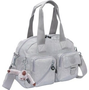 Kipling Defea Satchel in Grey