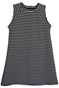 Urban Outfitters short dress Black & White Stripes Uo on Tradesy