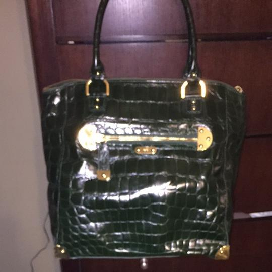 Rafe Tote in Hunter green