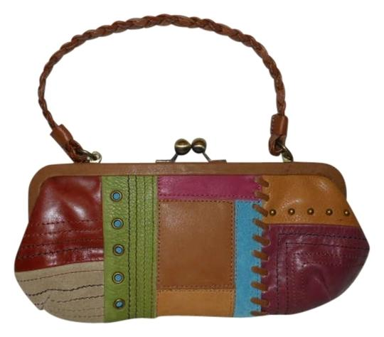 Preload https://item1.tradesy.com/images/fossil-patchwork-tan-multi-leather-clutch-164030-0-0.jpg?width=440&height=440