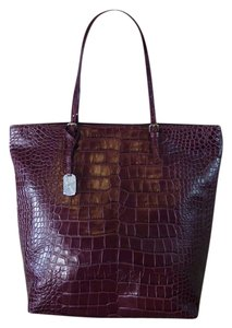 Furla Tote in Burgundy