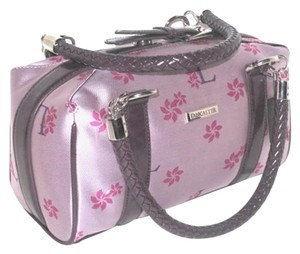 Lancaster Style # Bla042 Satchel in Purple Plum Pink